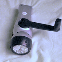 ラジオ付き懐中電灯(蓄電)